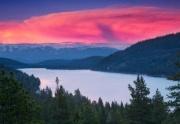 Donner Lake Sunset