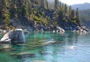 Kayaking Around Lake Tahoe