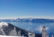 North Lake Tahoe Winter  Views