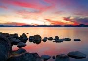 Sunset on North Lake Tahoe