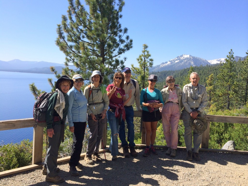 Carmen Carr provides FREE monthly hikes of Truckee & Lake Tahoe's endless trail systems