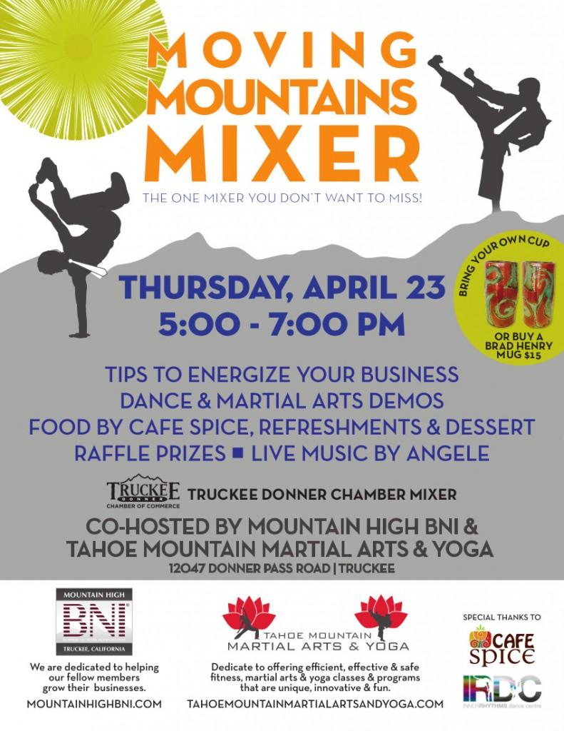 Moving Mountains BNI Mixer