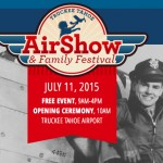 "Truckee Tahoe AirShow and Family Festival ""A Salute to our Veterans"""