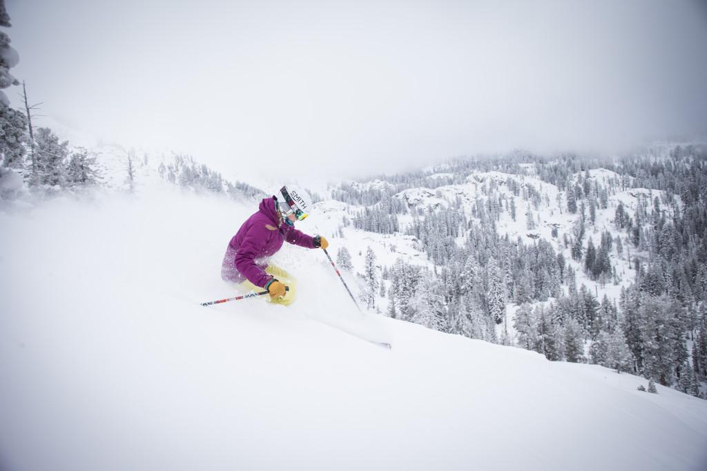 Skier Amie Engerbretson,SV 3.1.15