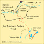August Hike to Loch Leven Lakes with Carmen Carr